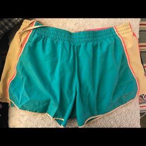 Nike Dri Fit track shorts